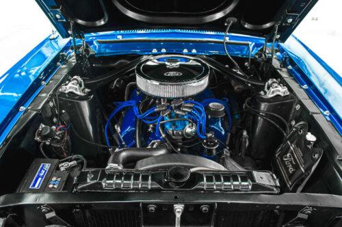 Ford Mustang Motorraum Nano Ceramic Protect Soft