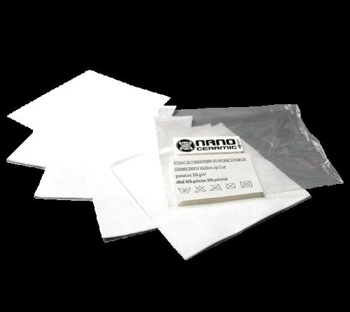 Mikrofasertüchr zur Applikation 10x10 cm - 250 g/m²