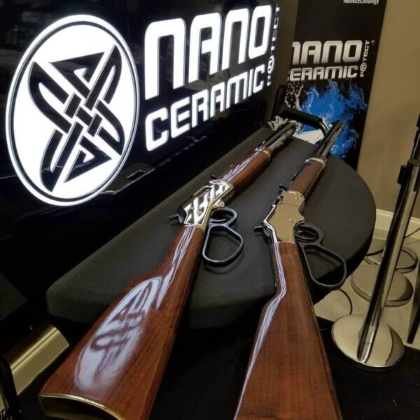 Waffen mit NCP9H versiegelt