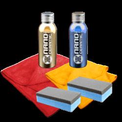 Nano Ceramic Protect Lackveredelung Crystal Wax Set